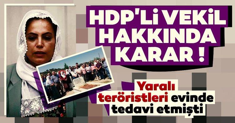 Son dakika: HDP'li vekil Remziye Tosun'a 10 yıl hapis cezası