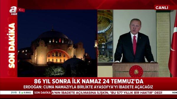 Başkan Erdoğan, Fatih Sultan Mehmet'in vakfiyesinden bu kısmı okudu | Video