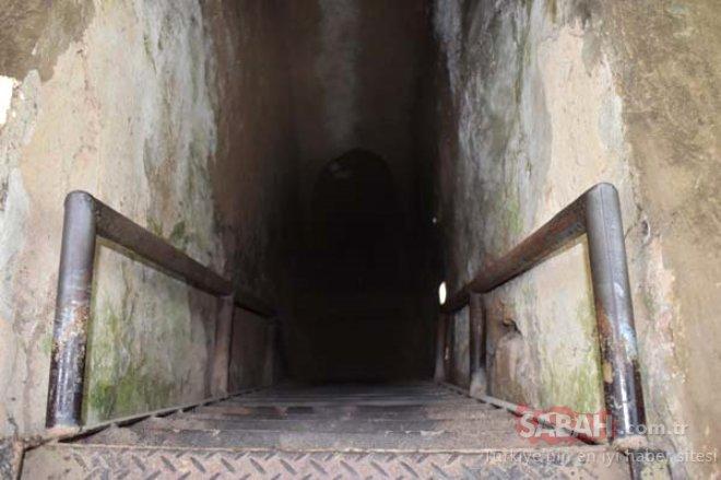 Bu esrarengiz yeri görenler şaşkına dönüyor! O askerlerin korkulu rüyasıydı!