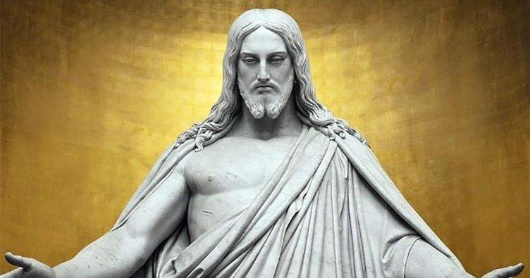 Anıt yıkma eyleminde hedef: İsa Peygamber