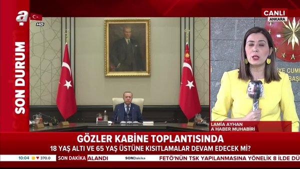 Cumhurbaşkanı Erdoğan başkanlığında kritik Cumhurbaşkanlığı Kabinesi toplantısı | Video