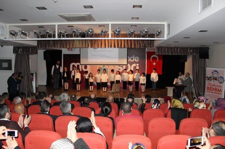 Türkçem, Benim Ses Bayrağım! projesi start aldı