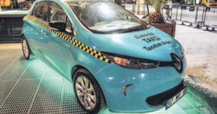 İstanbul trafiğinde elektrikli taksi dönemi
