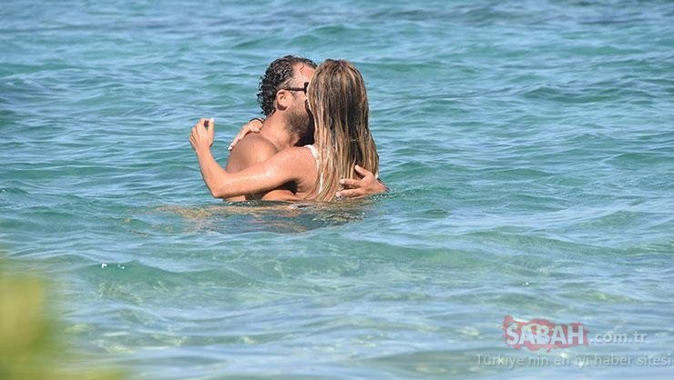 Ivana Sert ve sevgilisi Sezer Dermenci böyle görüntülendi!