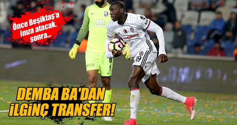Demba Ba, Beşiktaş'tan Konyaspor'a...