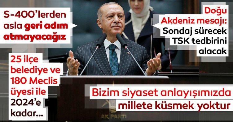 Seçim sonrası AK Parti'nin ilk grup toplantısı: Erdoğan'dan önemli mesajlar!