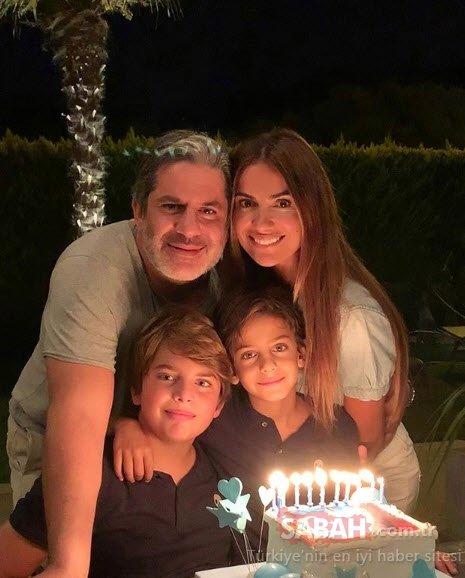 Ünlü model Yüksel Ak 14. evlilik yıl dönümünde... İşte Yüksel Ak'ın eşi ve çocukları...