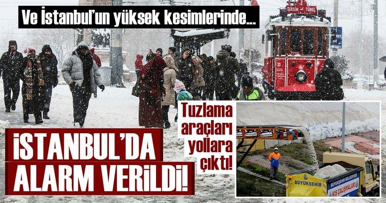 Meteoroloji'den son dakika hava durumu uyarısı geldi! - İstanbul'a kar bugün yağacak mı?