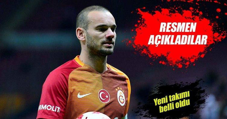 Nice, Sneijder'i açıkladı