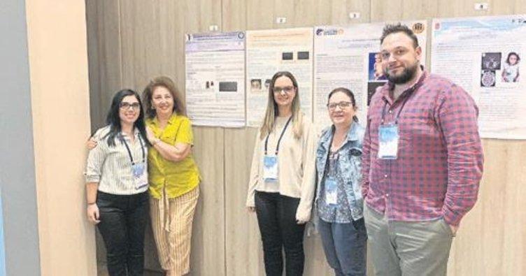 Tıp Fakültesi Araştırmacıları Çocuk Genetik Kongresi'nde bildiri sundu
