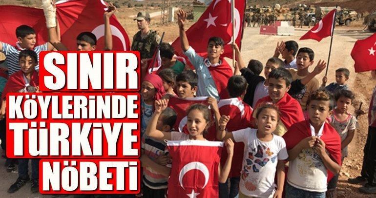 Sınır köylerinde Türkiye nöbeti