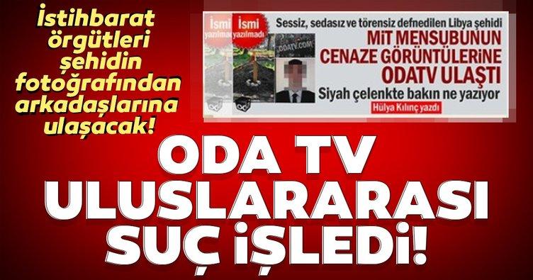 ODA TV MİT mensuplarının fotoğraflarını yayınladı! Uluslararası istihbarat örgütleri, şehidin fotoğrafından arkadaşlarına ulaşacak!
