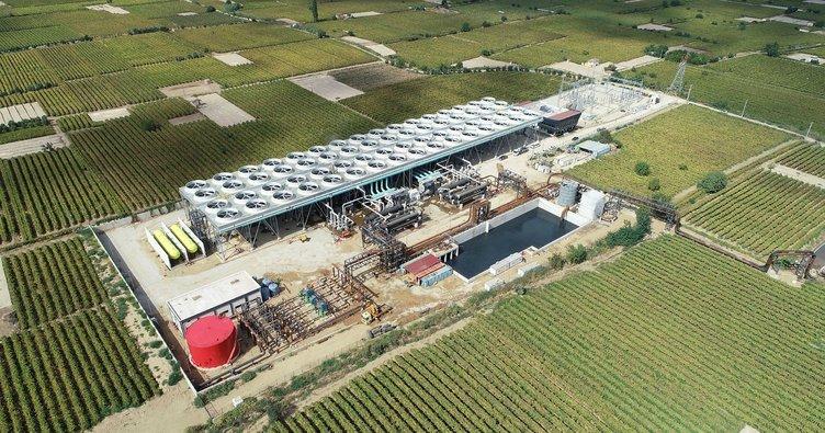 ALA-2 jeotermal enerji santrali işletmeye alındı