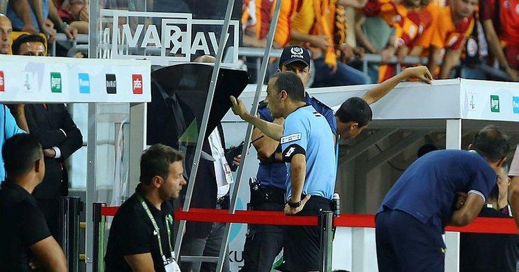 Galatasaray - Akhisarspor maçında VAR kullanıldı