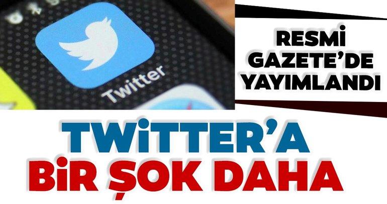Son dakika haberi: Twitter'a reklam yasağı! Resmi Gazete'de yayımlandı