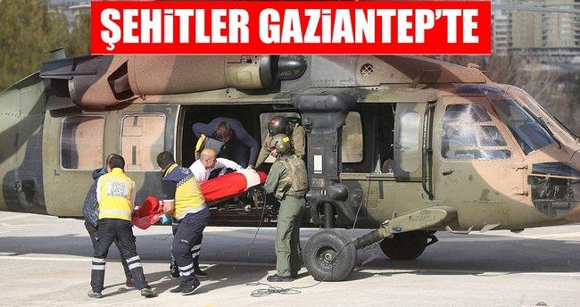 Şehitler Gaziantep'te
