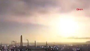 Japonya'da atmosfere giren göktaşı gökyüzünü aydınlattı | Video