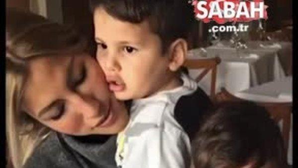 Çağla Şıkel'den çocuklarıyla paylaşım | Video