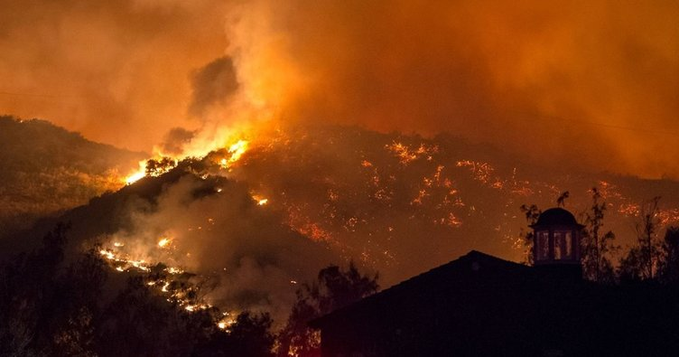 California'daki yangınlarda ölü sayısı 83'e çıktı