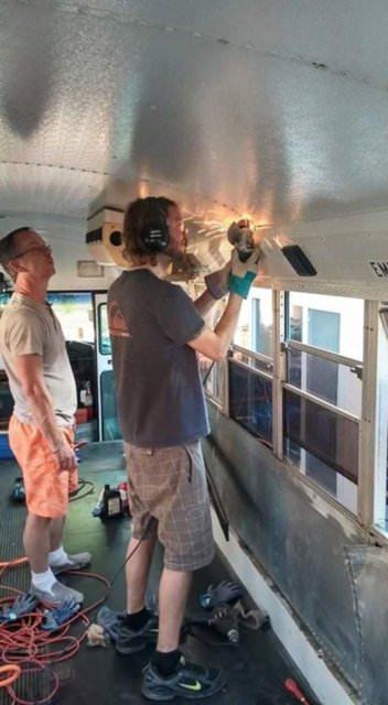 Otobüsten ev yaptılar!
