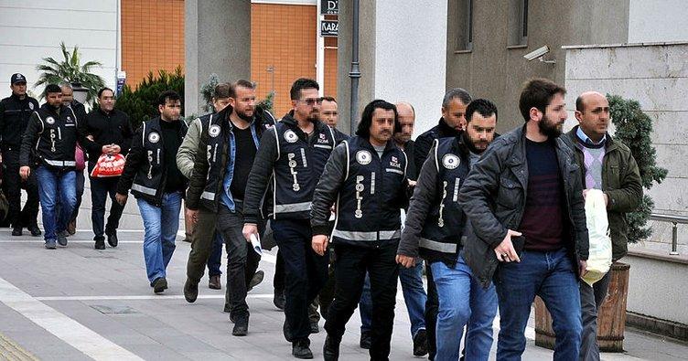 Osmaniye'de FETÖ şüphelisi 12 eski komiser yardımcısı adliyede
