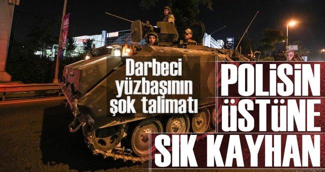 Polisin üstüne sık Kayhan