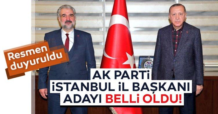 Son dakika haberi: AK Parti İstanbul İl Başkanı adayı Osman Nuri Kabaktepe oldu