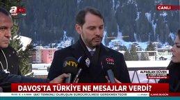 Bakan Albayrak'tan Davos Zirvesi'nde önemli açıklamalar