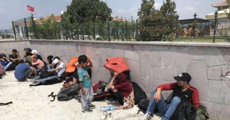 Kırklareli'de 17 kaçak göçmen yakalandı