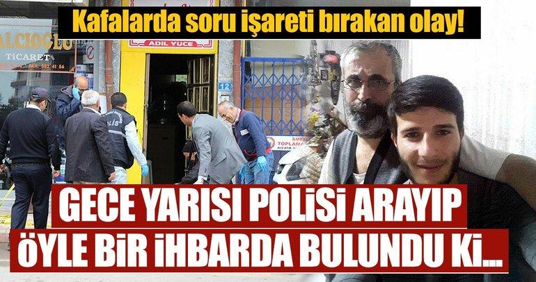 Konya'da polisi arayıp intihar edeceğiz deyip, önce arkadaşını vurdu sonra kendine sıktı