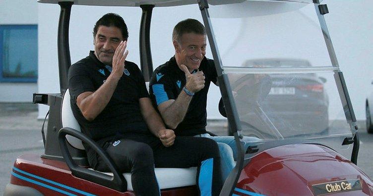 Trabzonspor'da Ahmet Ağaoğlu ve Ünal Karaman taraftarları kırmadı