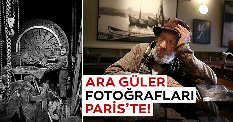 Ara Güler fotoğrafları Paris'te!