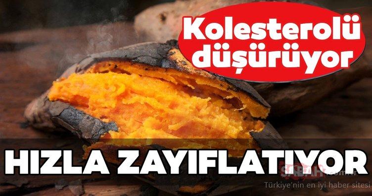 Kolesterolü bitiriyor ve hızla zayıflatıyor...