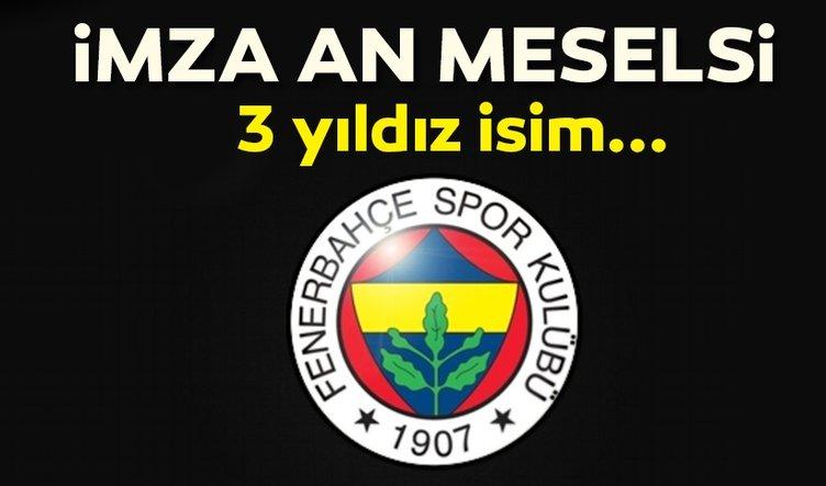 Son dakika   Fenerbahçe'de flaş transfer gelişmesi! Fenerbahçe bomba transfer haberleri art arda geliyor