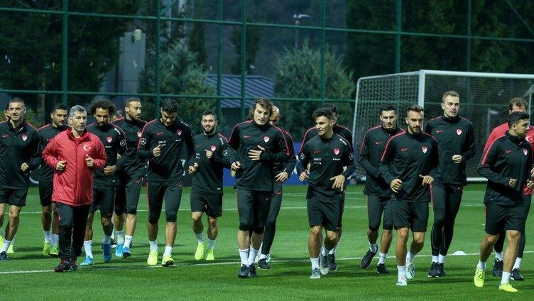 Türkiye, Arnavutluk ve Fransa maçlarının çalışmalarına 7 eksikle başladı