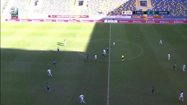 GOL | Gençlerbirliği 1-0 Kırşehir Belediyespor