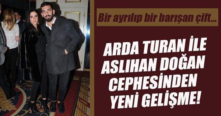 Arda Turan ile Aslıhan Doğan cephesinden yeni gelişme!