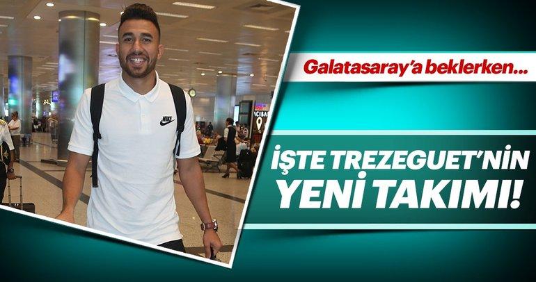 Son dakika: Trezeguet, Slavia Prag'a transfer oldu