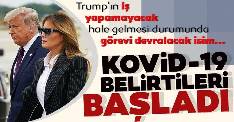 ABD Başkanı Trump, hafif Kovid-19 belirtileri gösteriyor