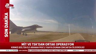 Son dakika! TSK ve MİT'ten Sincar'da ortak operasyon: Aranıyordu, etkisiz hale getirildi   Video
