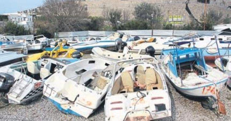 Otopark tekne mezarına döndü