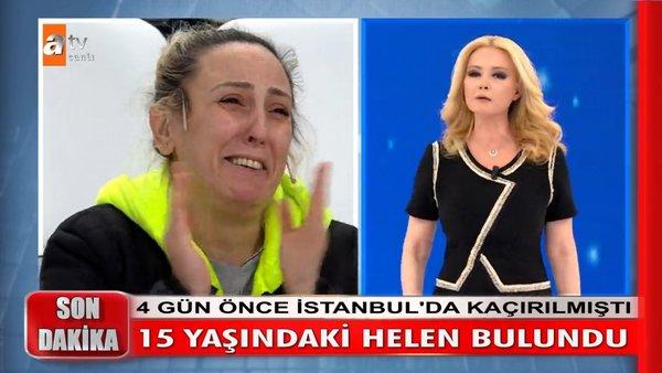 Müge Anlı'da SON DAKİKA: Hülya Avşar'ın kaçırılan kızı Helen Avşar hakkında canlı yayında gözyaşlarına boğan gelişme | Video