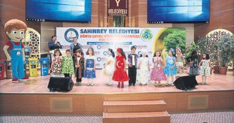 Şahinbey Belediyesi Dünya Çevre Günü'ne damga vurdu
