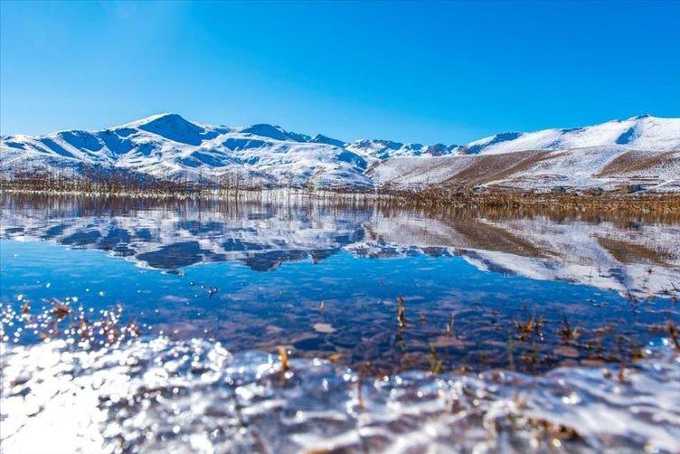 Eğrigöl'de kış