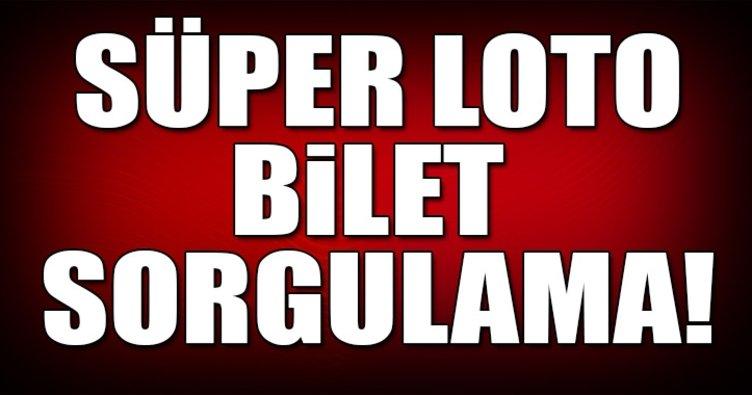 11 Ocak Süper Loto sonuçları! Süper Loto bilet sorgulama...