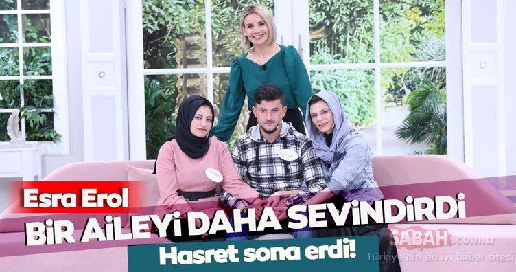Esra Erol bir aileyi daha sevindirdi! Kadriye Güzel annesi Naciye İpek'e Esra Erol'da kavuştu!
