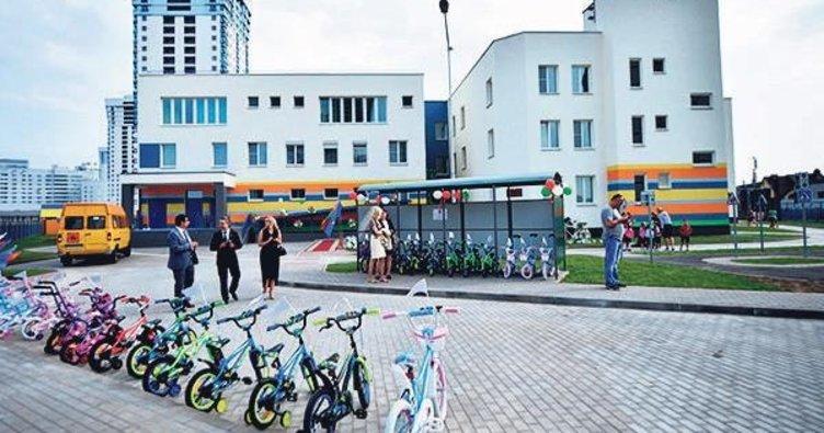 Belarus'a Türkçe eğitim veren anaokulu