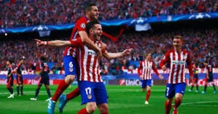Atletico Madrid yarı finalde