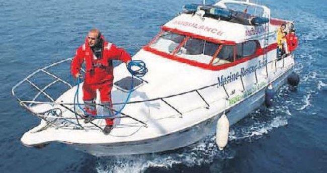 Deniz ambulansı istiyoruz