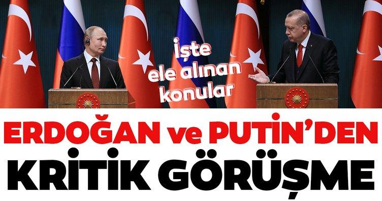 Son dakika: Başkan Recep Tayyip Erdoğan, Rusya Devlet Başkanı Vladimir Putin ile telefonda görüştü